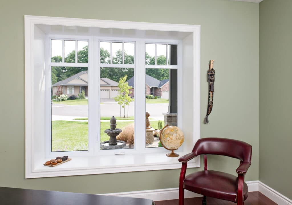 PVC Fiberglass Casement Window Installation in Winnipeg