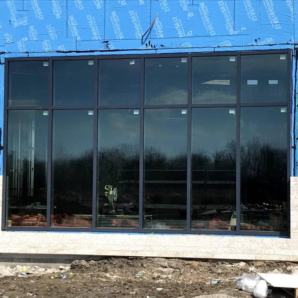 Curtain Wall Installation in Winnipeg