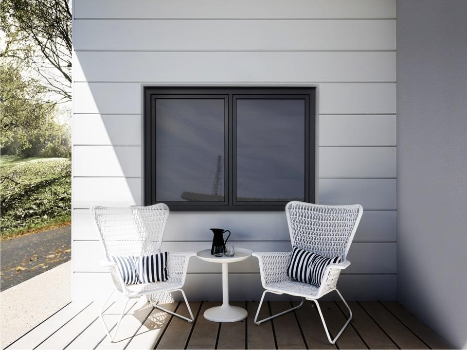 Thermal Aluminum Fixed Window Installation in Winnipeg