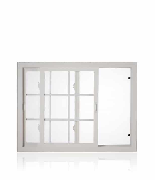 PVC Fiberglass Horizontal Sliding Windows Installation in Winnipeg