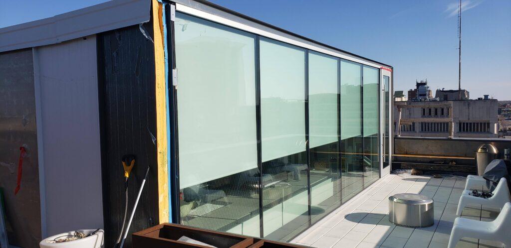 Exchange District Window Installation