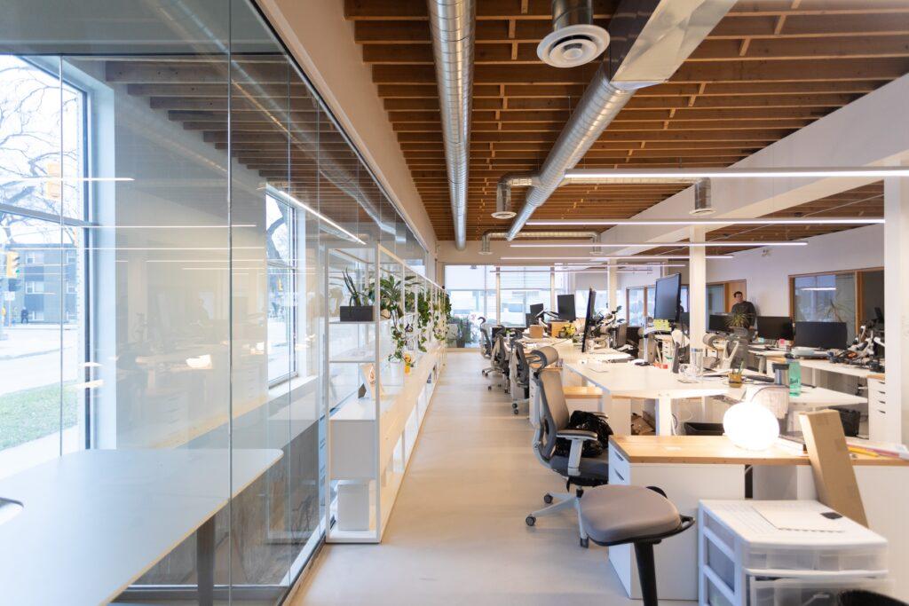 Glass Wall Installation Winnipeg